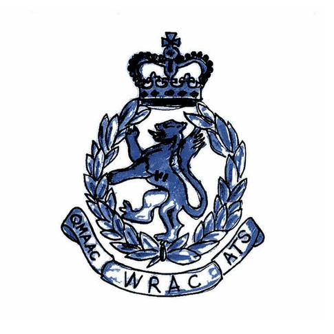 WRAC Badge Emblem