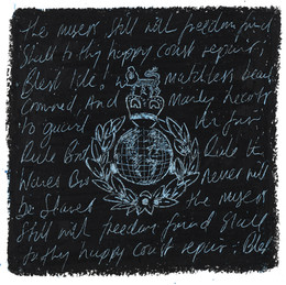 Royal Marines Badge Emblem