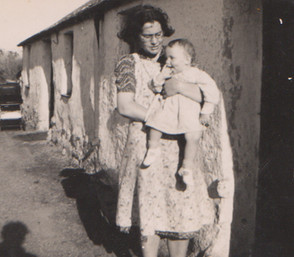 Mum as a child in North Wales