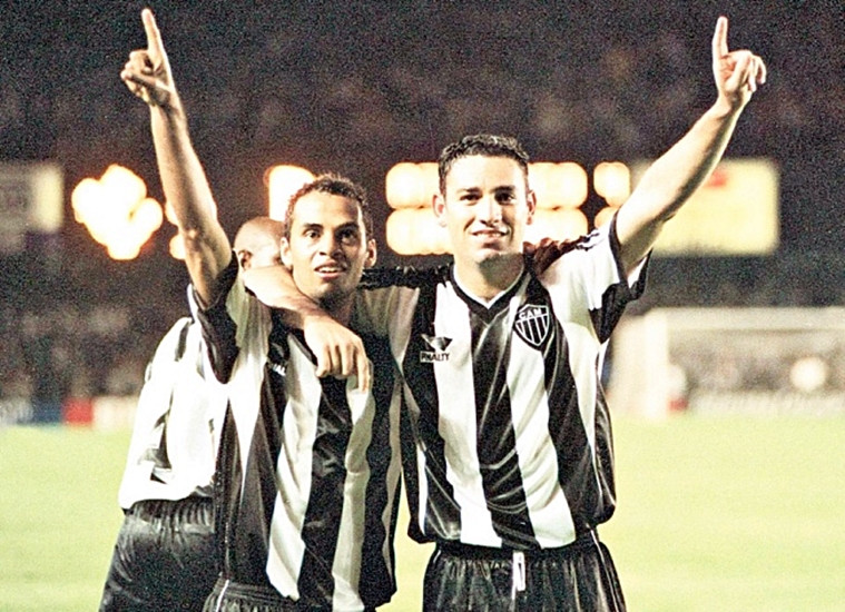 Marques e Guilherme,  a dupla que deu mais trabalho para o Júnior Reis.ara marcar: