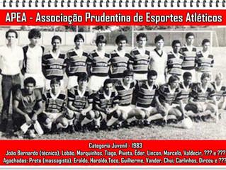 Prudentina - 1983 - categoria juvenil