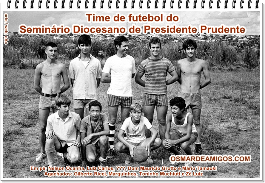 Time de futebol do Seminário Diocesano de Presidente Prudente