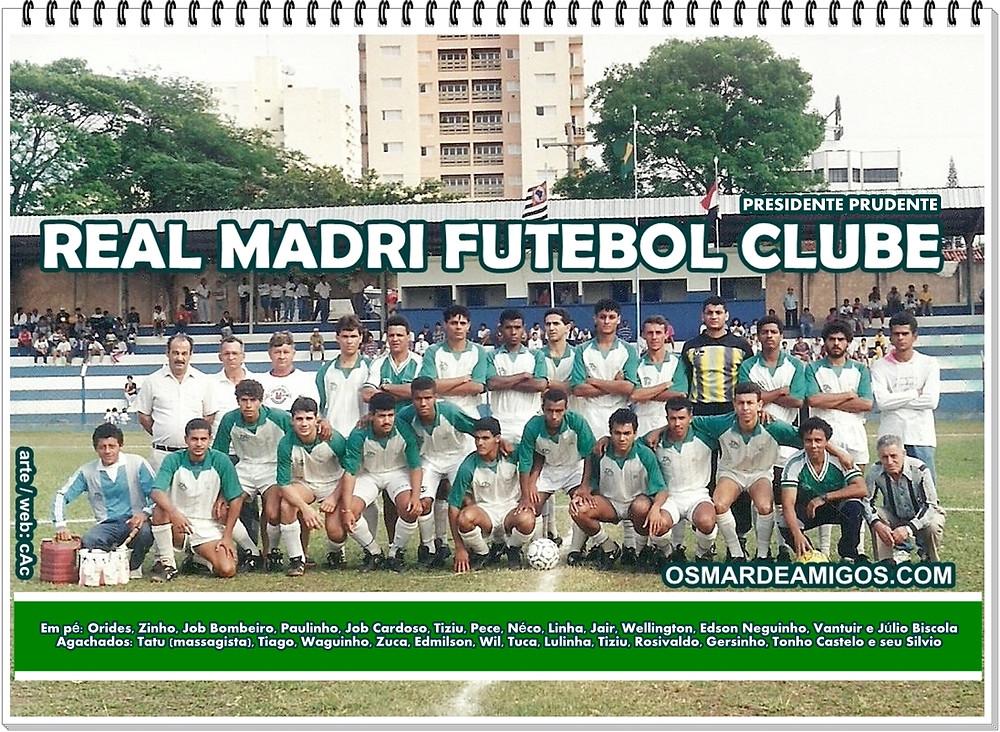 Real Madri -1994 Campeão da Primeira Divisão