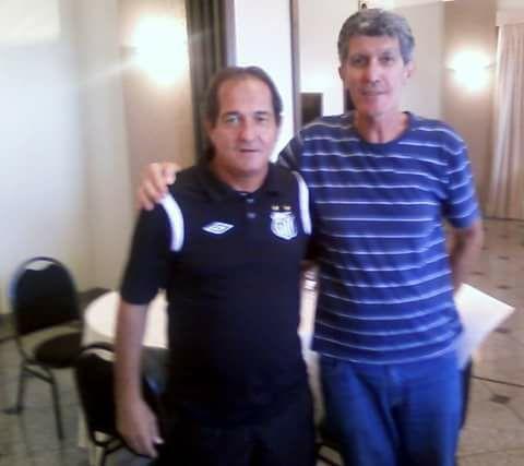 Muricy Ramalho e Claudemir Vilhegas, o Espanhol
