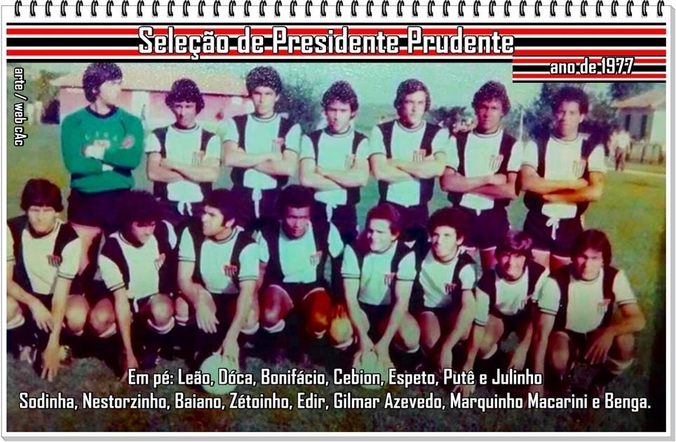 Seleção Amadora de Presidente Prudente de 1977