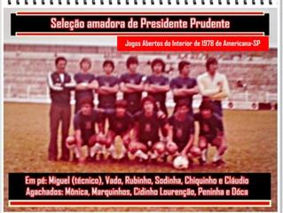 Seleção Amadora de Presidente Prudente - 1978