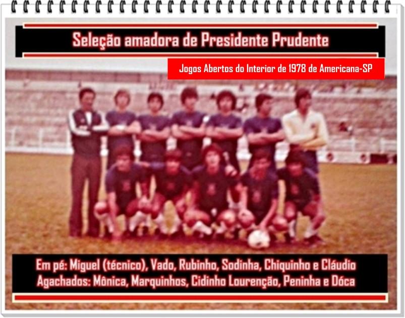 Seleção Amadora de Presidente Prudente de 1978