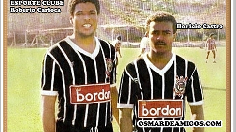 Saudade Esporte Clube. Roberto Carioca.