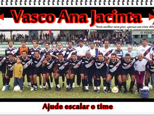 Vasco Ana Jacinta, o time do presidente Claudião
