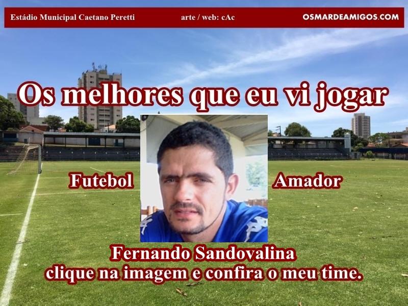 Os melhores do Fernando Sandovalina