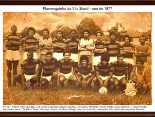 Foto no Quadro, Flamenguinho da Vila Brasil em Moldura