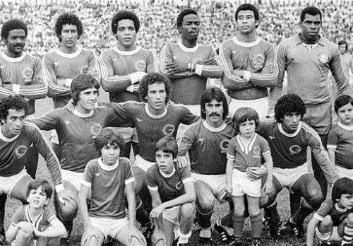 Guarani campeãobrasileiro de 1978.