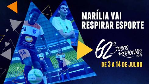 Jogos Regionais de Marilia / 2018
