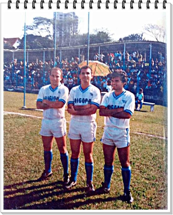 Pingo, Gilmar e Cooper