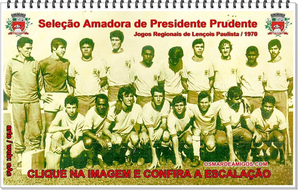 Seleção Amadora de Presidente Prudente de 1970