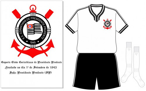 Símbolo e uniforme do Corinthians PP