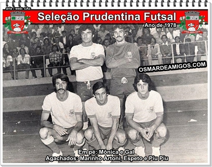 Seleção Prudentina Futsal de 1978