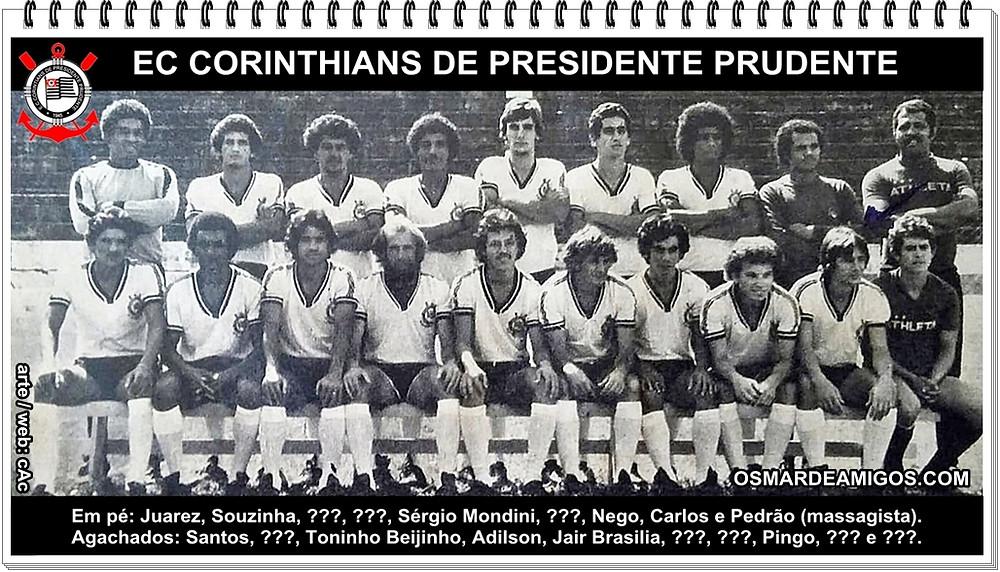 EC Corinthians de Presidente Prudente - 1978