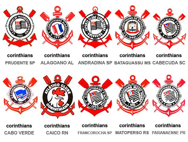 Times Corinthians no Brasil