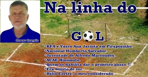 Na linha do gol com Osmar Gonçalo