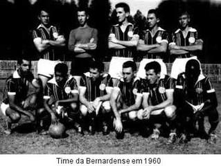 """Associação Atlética Bernardense... Mas, pode chamar de """"O Leão da Alta Sorocabana""""."""