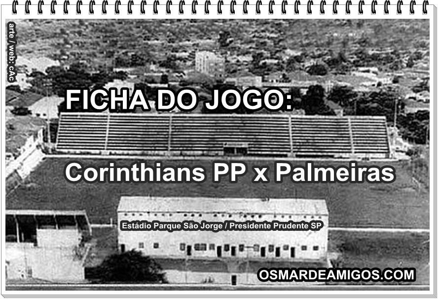 Corinthians PP x Palmeiras