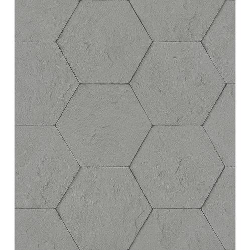Dark Grey Hexagon Stones