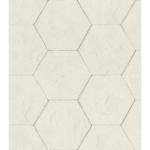 Cream Hexagon Stones
