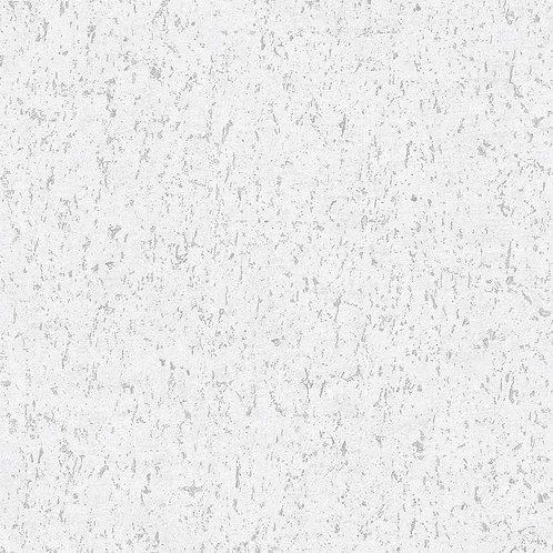 Faux Cork Texture White/Silver