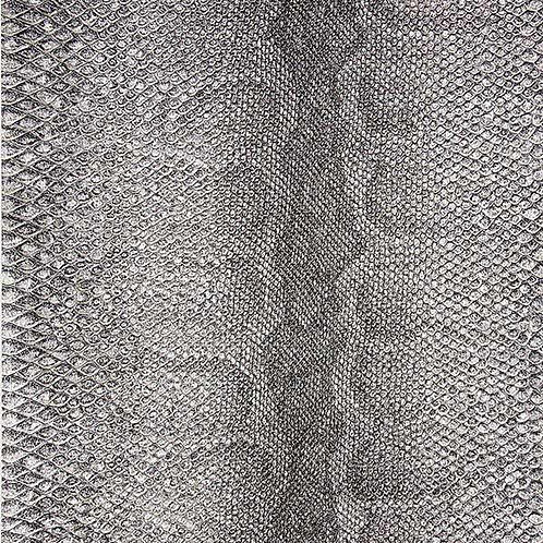 Snakeskin Dark Brown