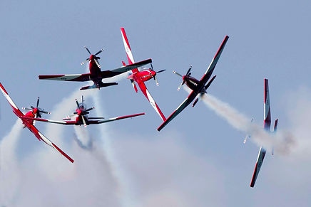 Sale is home to the famous RAAF Roulettes