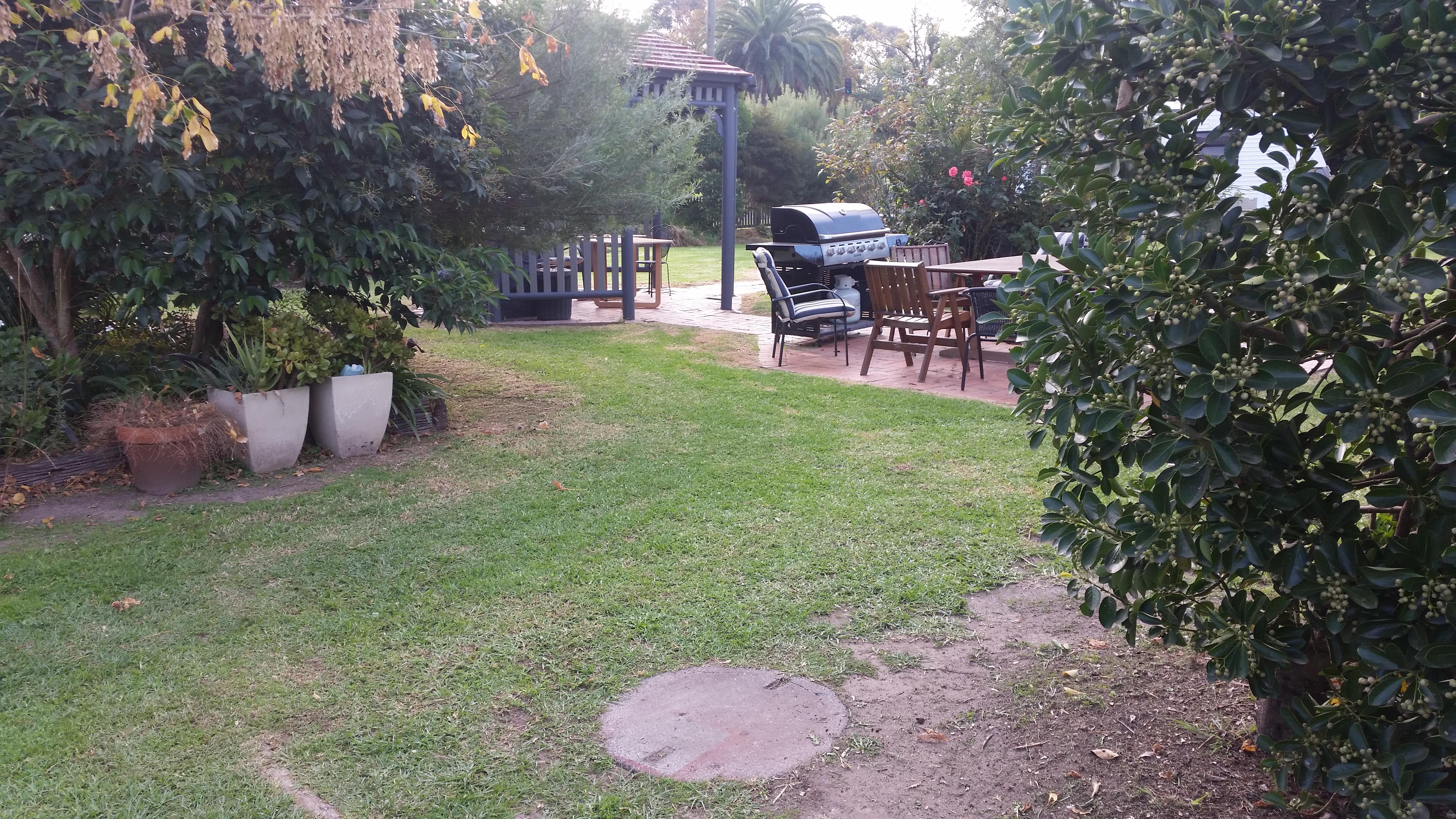 BBQ Garden Area