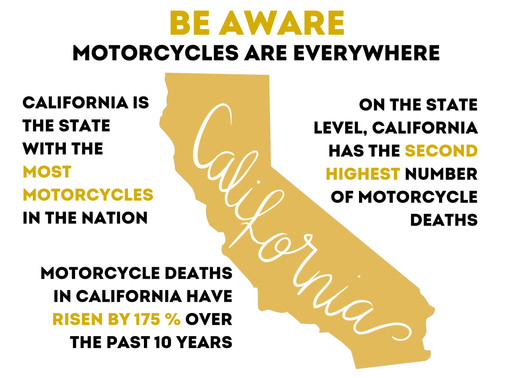 The Facts: Motorcycle Statistics in California