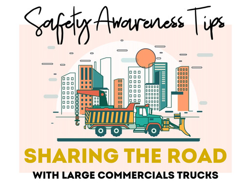 Safety Awareness Tips for Sharing the Road with Trucks