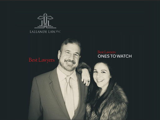 The Best Lawyers in America© Recognizes Lallande Law, PLC Attorneys