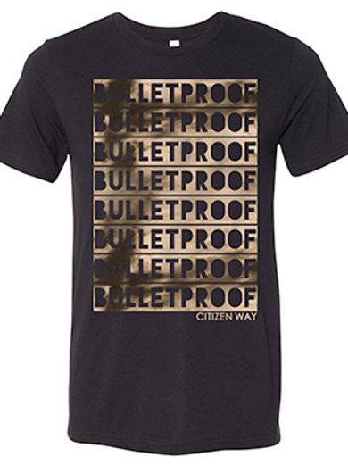 Bulletproof Gold / Black Tee