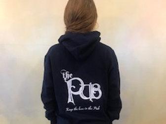 The Pub Hooded Sweatshirt - Blue