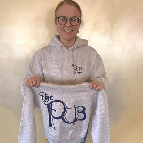 The Pub Hooded Sweatshirt - Grey