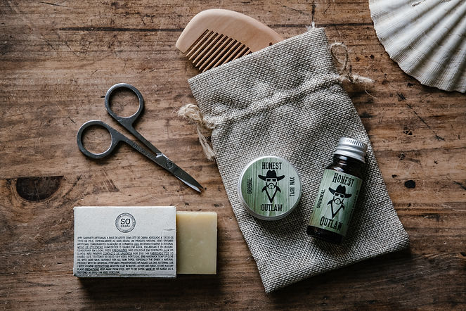 Honest Outlaw beard grooming kit