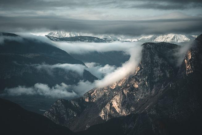 alps dolomiti mountains