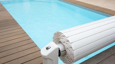 Rolety basenowe