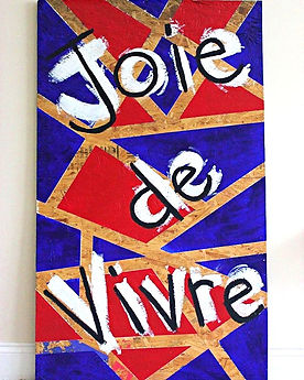 "Some_days_you_feel_the_need_to_make_something_big_and_bright!_""Joie_de_Vivre""_4'x2'5""_acrylic_on_rec"
