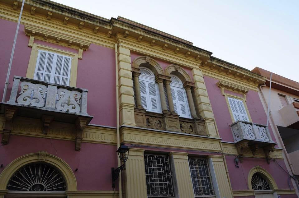 Facciata B&B Casa Tonina Carloforte Sardegna