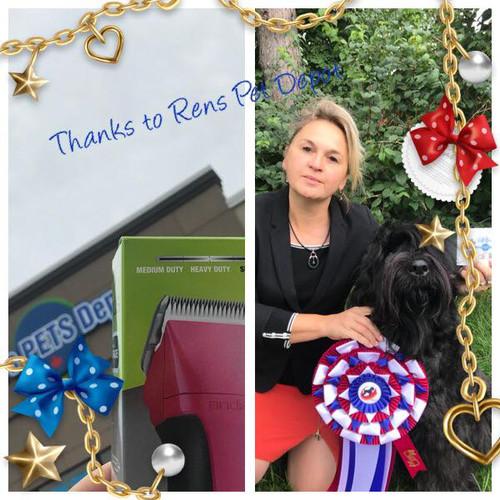 BISS - Best in Specialty Show Black Russien Terrier 2018 (Canada)