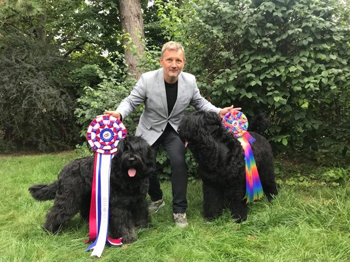WINNER BISS Canada 2018 and SELECT DOG in Specialty Show -  Black Russian Terrier 2018 (Canada)