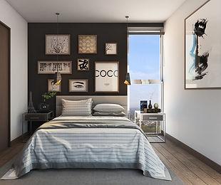 Dormitorio Apartamentos CSP