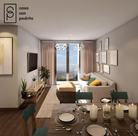 Área Social Apartamentos CSP