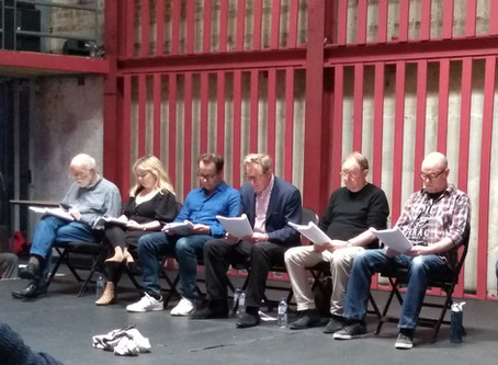 Yes so I Said Yes reading at Park Theatre