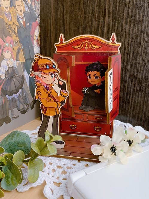 Great Ace Attorney chronicles wardrobe stand