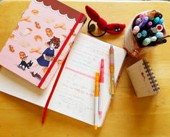 Kiki's Delivery Service Stationary Notebook